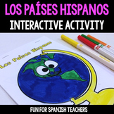 Spanish Interactive Notebook - Los Países de Habla Hispana