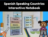 Spanish Speaking Countries Interactive Notebook (Los paises hispanohablantes)