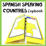 Spanish Speaking Countries Lapbook