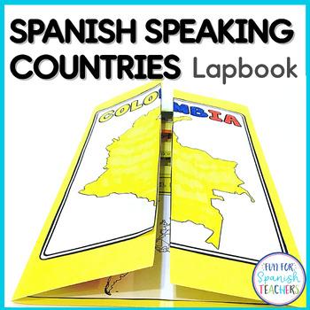 Spanish Speaking Countries Lapbook