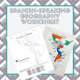 Spanish Speaking Countries Map Activity