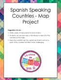 Spanish Speaking Countries Map Project