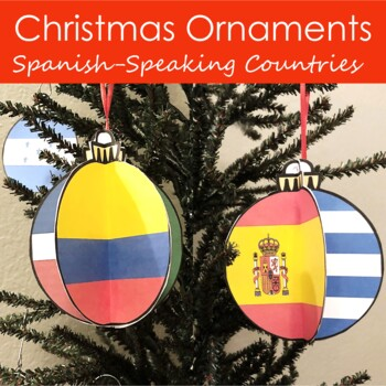 Spanish Speaking Countries Ornaments
