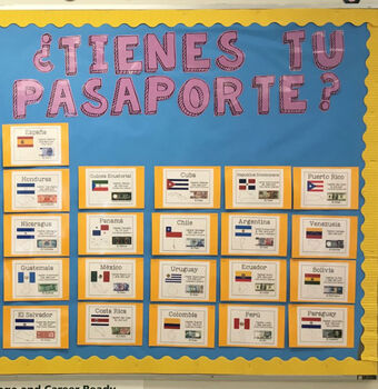 Spanish Speaking Countries - Printable Information Posters