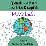 Spanish Speaking Countries Puzzle
