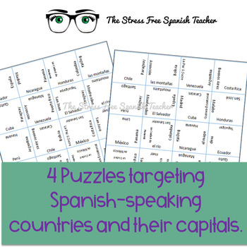 Spanish Speaking Countries Puzzle