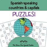 Spanish Speaking Countries Puzzles