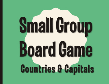 Spanish-Speaking Countries and Capitals Board Game