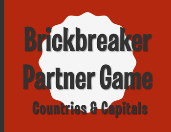 Spanish-Speaking Countries and Capitals Brickbreaker Partner Game