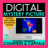 Spanish-Speaking Countries and Capitals Digital Mystery Pi