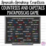 Spanish-Speaking Countries and Capitals Matamoscas Games