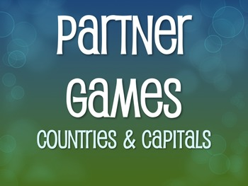 Spanish-Speaking Countries and Capitals Partner Games