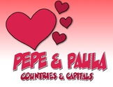 Spanish-Speaking Countries and Capitals Pepe and Paula Reading