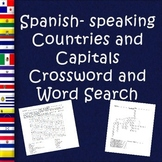 Spanish-Speaking Countries and Capitals Puzzles