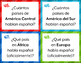 Free Spanish-Speaking Countries and Capitals Task Cards