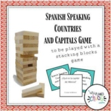 Spanish Speaking  Countries and Capitals with Jenga®