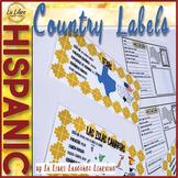 Spanish Speaking Countries Bulletin Board and Hispanic Cul