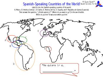 Spanish-Speaking Countries of the World