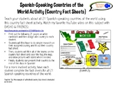 Spanish-Speaking Countries of the World Activity (Country