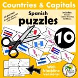 Spanish Speaking Countries_Capitals Puzzles 2