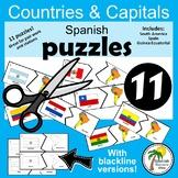 Spanish Speaking Countries_Capitals Puzzles 1