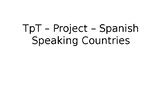 Spanish Speaking Country Exploration Project