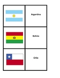 Spanish-Speaking Country Flash Cards