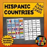 Spanish Speaking Countries Flashcards, Hispanic Countries