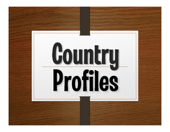 Spanish-Speaking Country Profile Projects