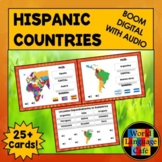 Spanish Speaking Countries Boom Cards, Spanish Boom Cards,