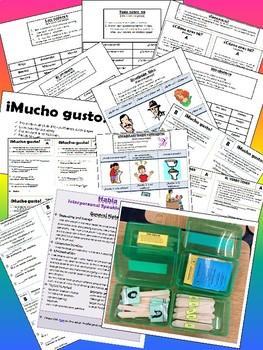 Spanish Guided Speaking Activites