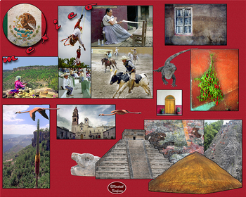 Interactive Spanish-Speaking Nations Photo Posters - Horizontal