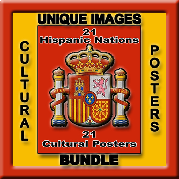 Spanish Speaking Nations in Photos Posters - Vertical