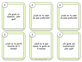 Spanish Speaking Prompts - Basic Personal Information