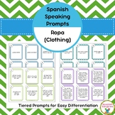 Spanish Speaking Prompts - Clothing (La Ropa)