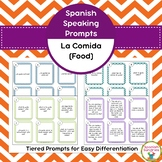Spanish Speaking Prompts - Food (La Comida)