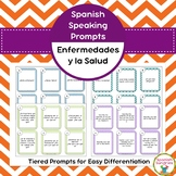 Spanish Speaking Prompts - Illness & Injury (Enfermedades)