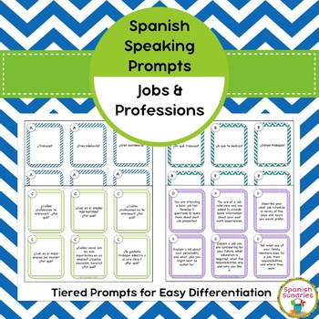Spanish Speaking Prompts - Jobs & Professions
