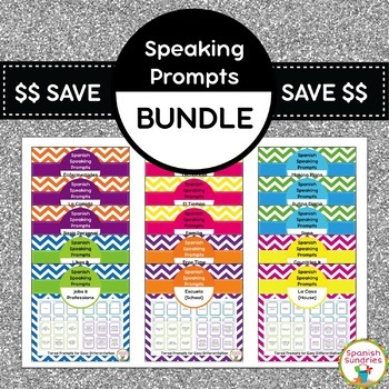 Spanish Speaking Prompts Mega Bundle