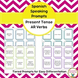 Spanish Speaking Prompts - Present Tense AR Verbs
