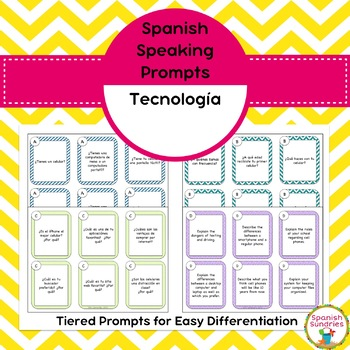 Spanish Speaking Prompts - Tecnología (Technology)