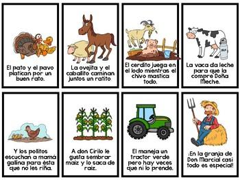 Spanish Speaking Reading : La Granja