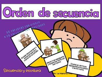 Spanish Speaking :Taller de orden de secuencia /Sequencing sort skill center