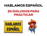 Spanish Speaking Tasks (20 conversation task cards)