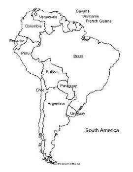 SpanishSpeaking World Maps Quiz By Miss Wingerath TpT - World map in spanish