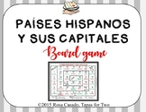 Spanish Speaking countries and capitals. Paises hispanos y sus capitales. Game