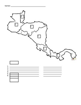 Spanish Speaking countries in Central America