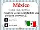 Spanish Speaking countries nationalities capitals paises hispanos nacionalidades