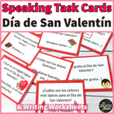 Spanish Speaking task cards for Valentine's Day