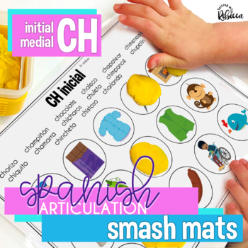 Spanish Speech Therapy Articulation CH Smash Mats